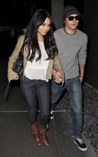 Zanessa in Hollywood