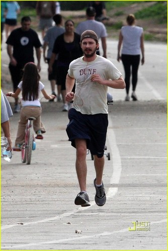 Shia Out in Pasadena