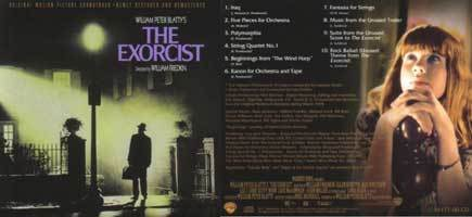 The Exorcist Front back {soundtrack}