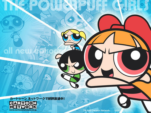 powerpuff girls 壁紙