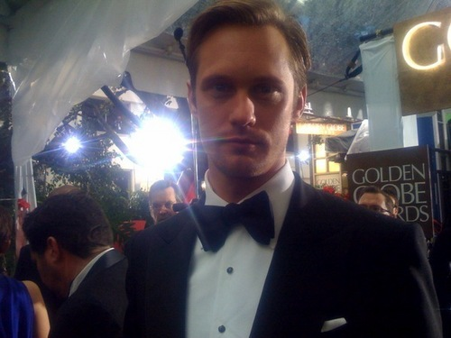 Alex at the 2010 Golden Globes