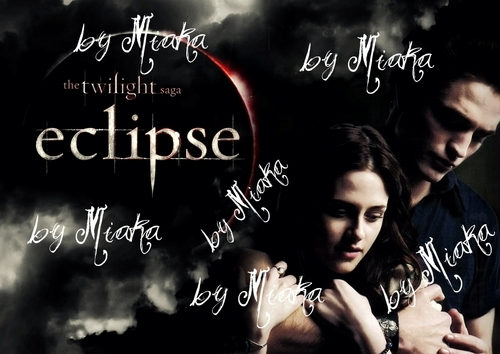 Bella & Edward Eclipse Promo Poster HQ