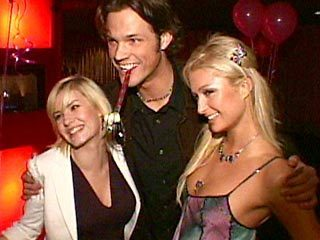 Jared Padalecki & Elisha Cuthbert and Paris Hilton