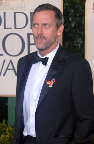 lebih 67th G. Globe Awards - Hugh Laurie