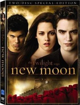 New Moon DVD Art