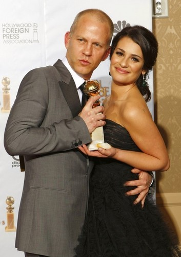 Ryan Murphy and Lea Michele@ 67th Golden Globes After Party