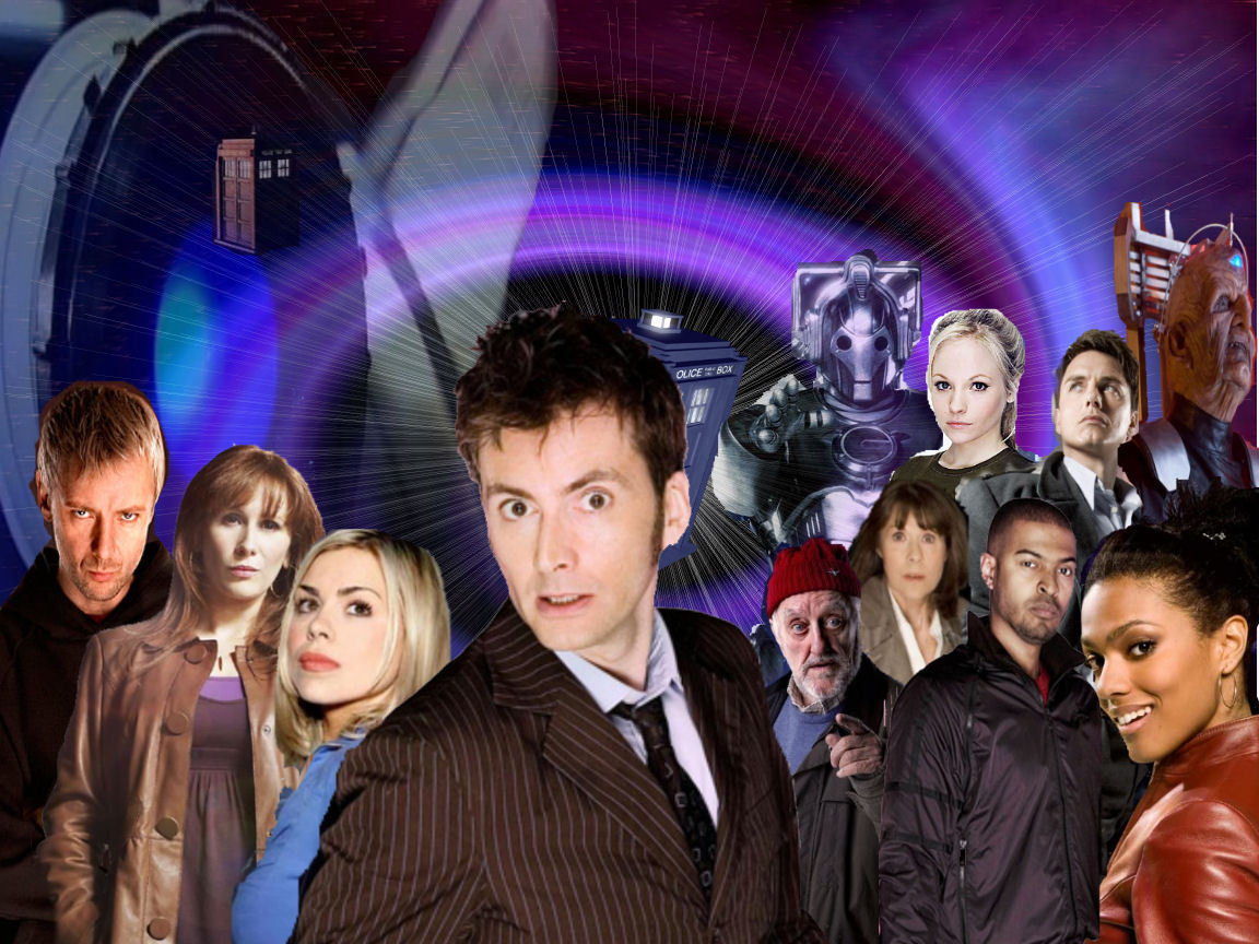 The David Tennant Era Doctor Who Wallpaper 9969692 Fanpop