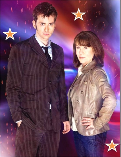The Doctor and Sarah Jane