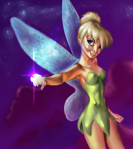 Tinker Bell Has the Magic Touch