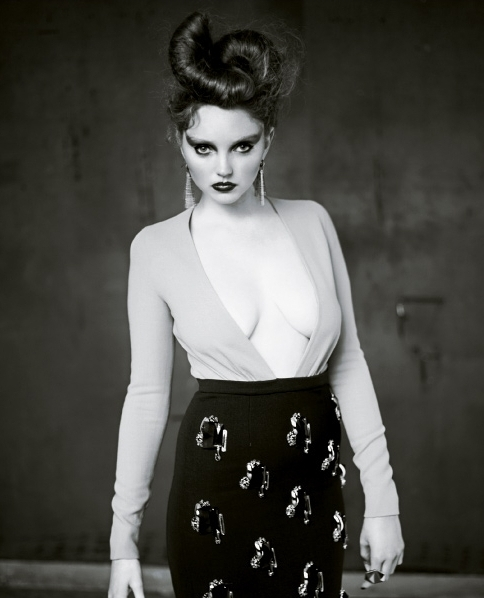 Which is your picture from the New York Times shoot? - Lily Cole - Fanpop