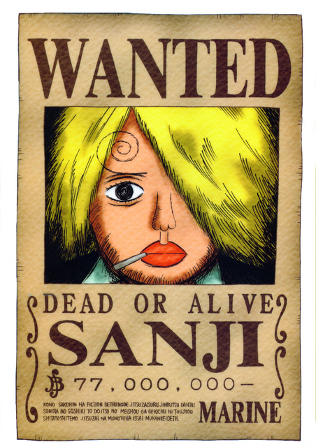 Who's Wanted poster do you like best? Poll Results - One ...