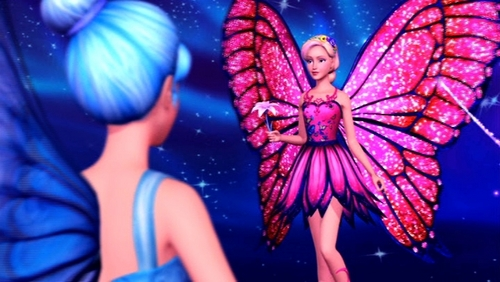 Mariposa with her new wings