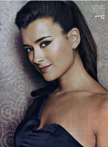 Cote de Pablo (Ziva) Artikel in TV Guide