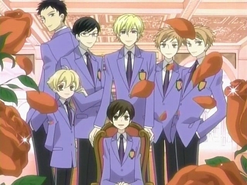 Ouran Host Club!