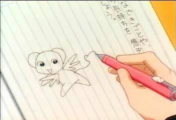 Sakura Drawing Kero
