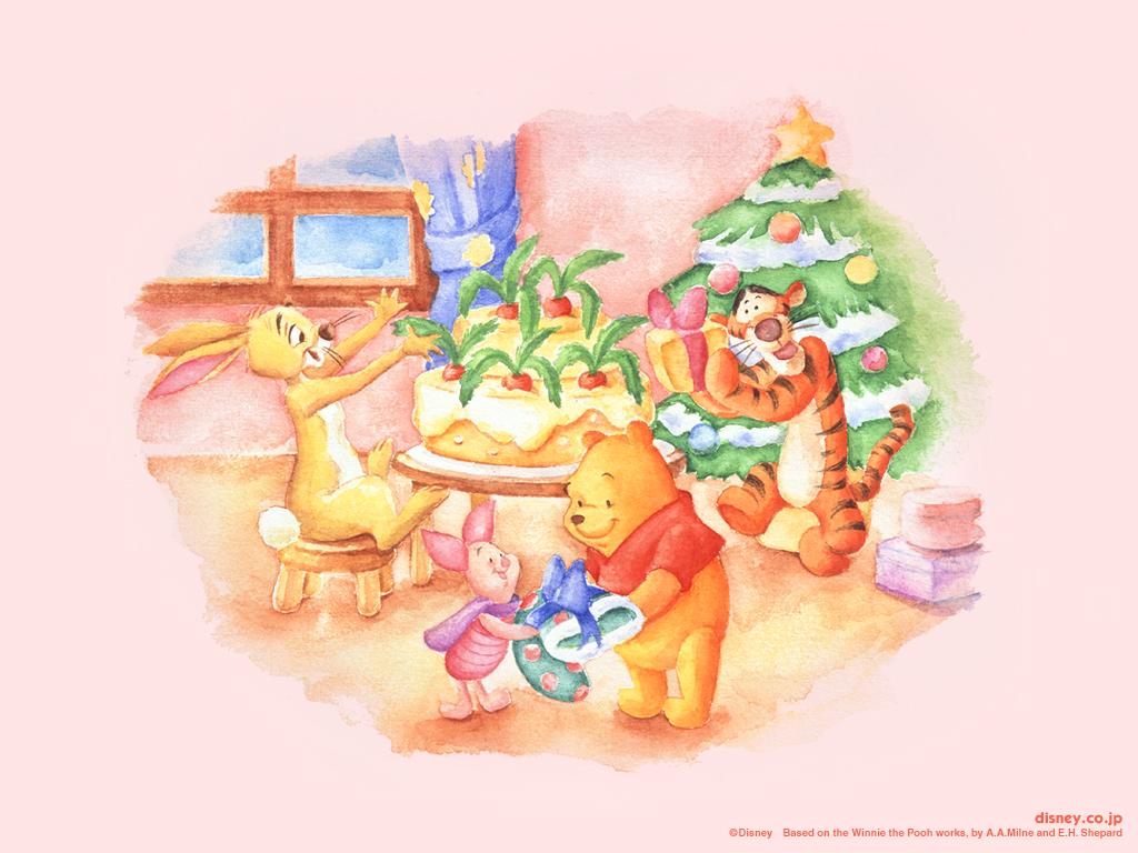 Winnie The Pooh Christmas Christmas Wallpaper 2735488 Fanpop