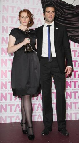 Zach at National Television Awards 2008