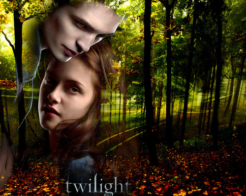 Edward & Bella Обои
