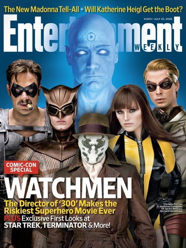 Entertainment Weekly Watchmen – les Gardiens Cover
