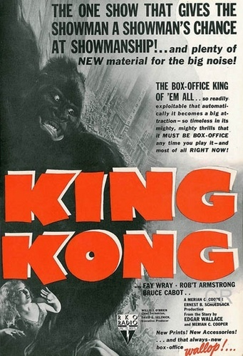 King Kong 1933 Movie Poster