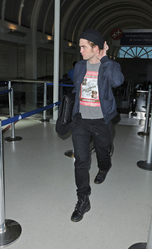 Rob at LAX Airport