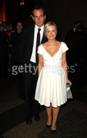 Will and Amy at the Museum Gala