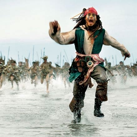 pirates of the caribbean , jack sparrow