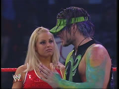Jeff Hardy and Trish Stratus