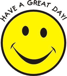 have a great दिन smiley!