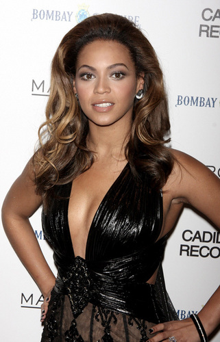 Beyonce at the NY Cadillac Records Premiere