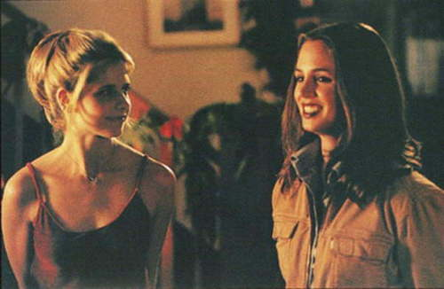 Buffy and Faith (: