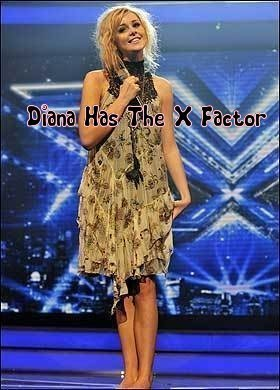 Diana Has The X Factor