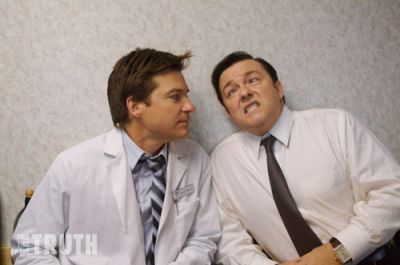 Jason Bateman and Ricky Gervais