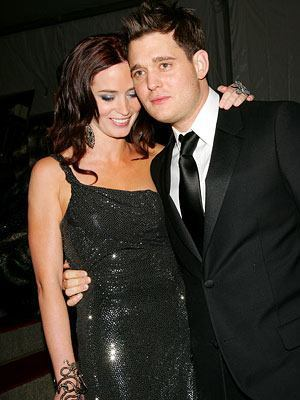 Michael Buble and Emily Blunt