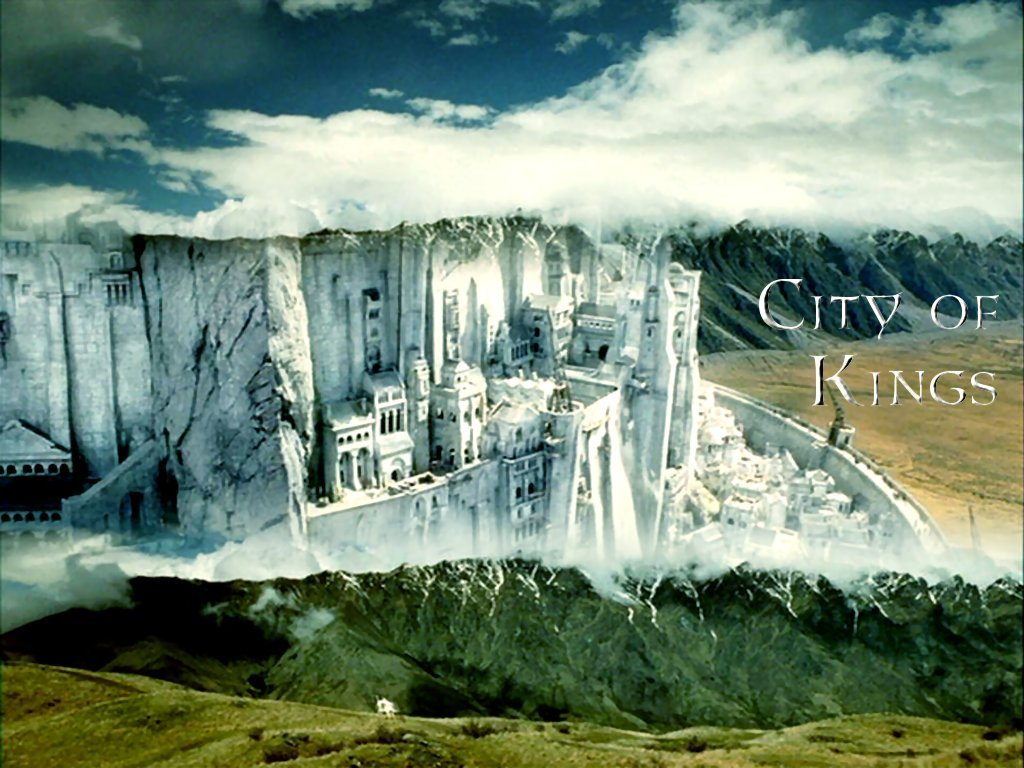Minas Tirith Lord Of The Rings Wallpaper 3067653 Fanpop
