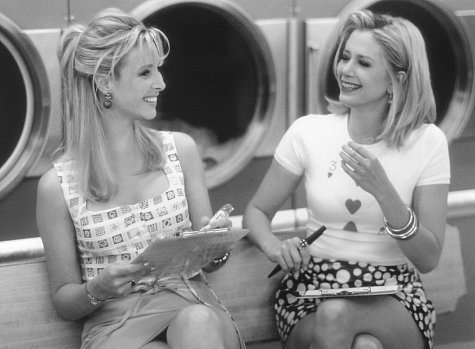 Romy and Michele B&W