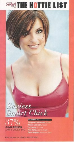 TV Guide's Sexiest Smart Chick