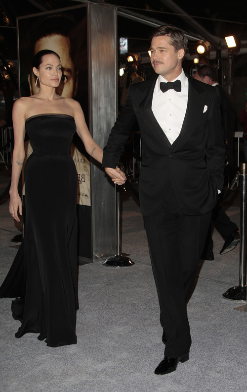 Brad and Angelina at 'The Curious Case of Benjamin Button' premiere