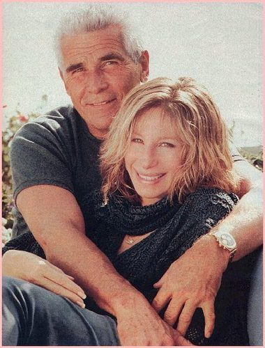 Barbra& Her Husband,James Brolin