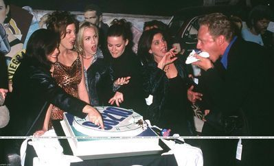 Beverly Hills 90210 200th episode party 11-02-97