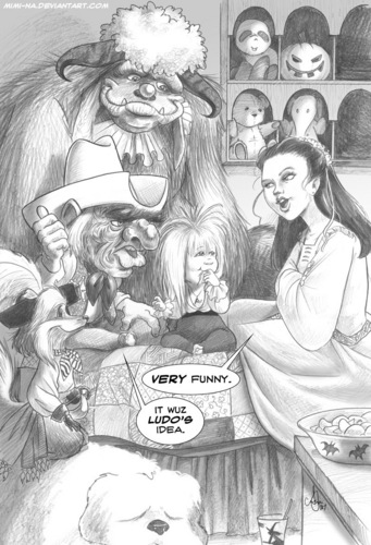 Labyrinth comic