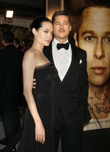 Brad Pitt and Angelina Jolie @ BB Premiere in LA