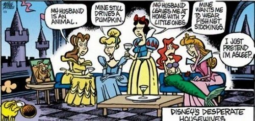 Disney's Deseparte Housewives