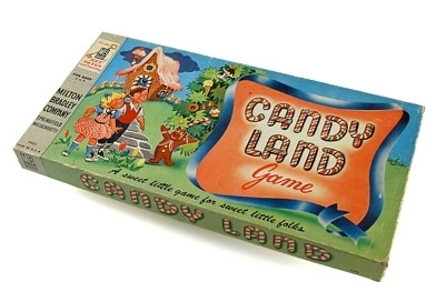 Game Box from 1949 Original Конфеты Land