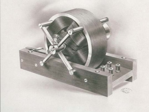 Original Tesla Electric Motor 1888