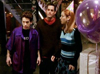 Xander, Willow, and Oz