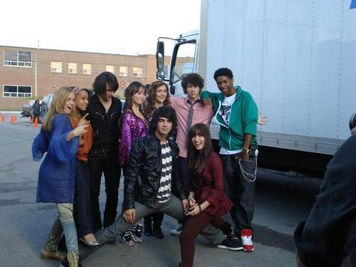 camp rock behind the scenes