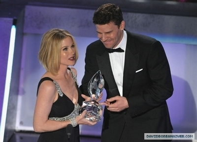 David @ 2009 People's Choice Awards