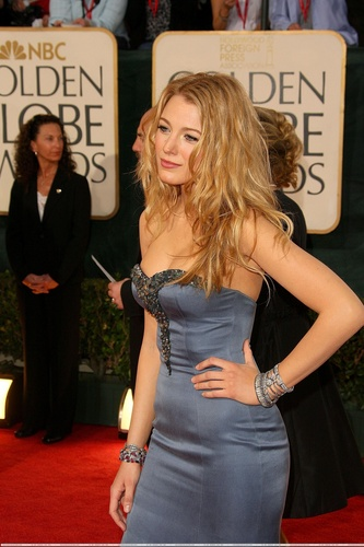 Blake at the Golden Globes