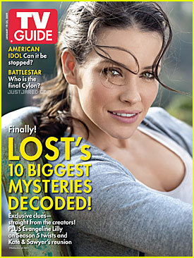 Evangeline Lilly (TV Guide Cover)
